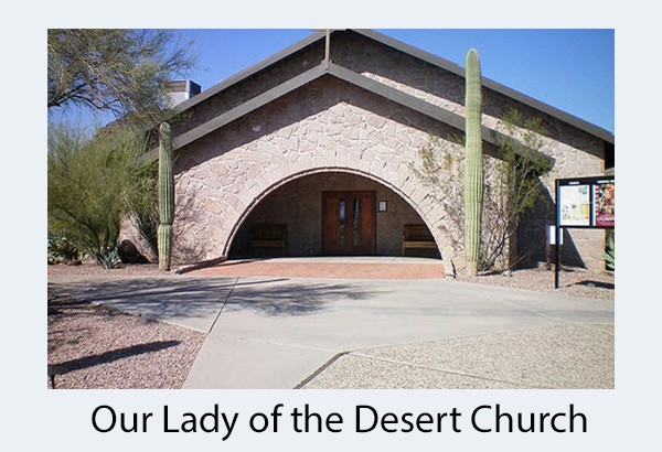our lady of the desert church